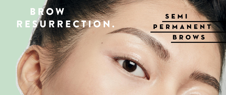 Browhaus Brow Resurrection Semi Permanent Eyebrows Microblading