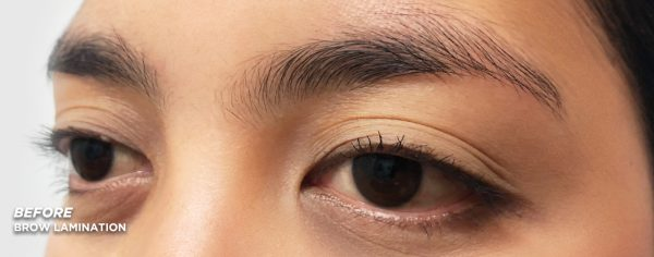 Kate Before Brow Lamination