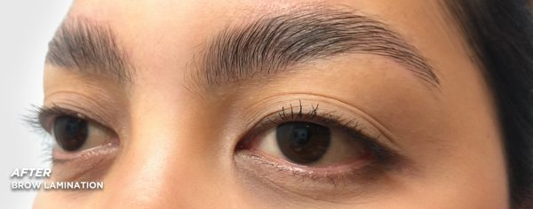 Kate After Brow Lamination